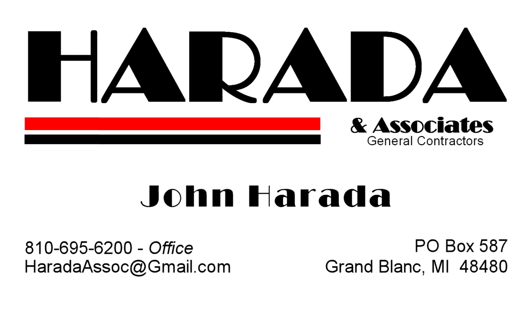 john harada - harada and associates - grand blanc michigan